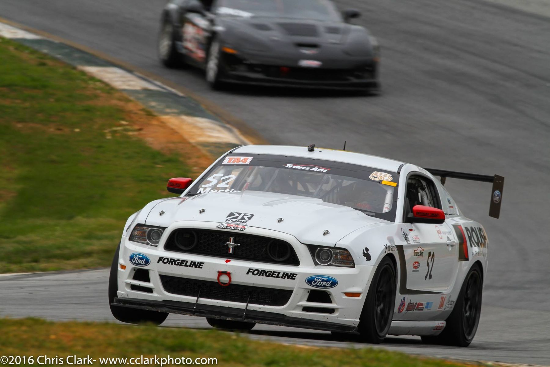 2014 Ford Mustang | Dean Martin Second in Trans Am Racing Round 2 at Road Atlanta in his TA4 Class Ford Mustang Boss 302 on Forgeline One Piece Forged Monoblock GS1R Wheels