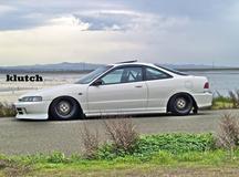 '92 Acura Integra on Klutch SL1's