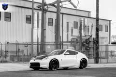 Custom Nissan 370z - Black And White