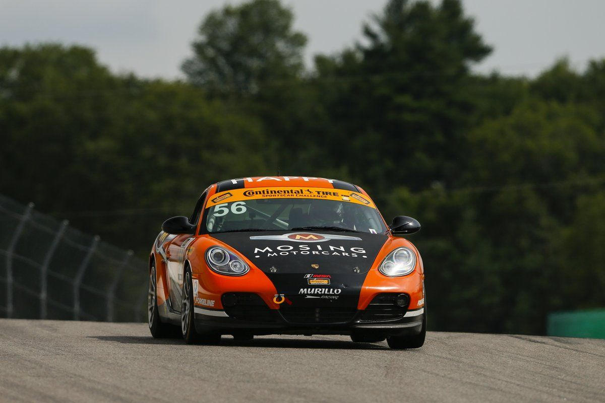 2017 Porsche Cayman | Murillo Racing Wins IMSA CTSC ST Class at Canadian Tire Motorsports Park with Porsche Cayman on Forgeline One Piece Forged Monoblock GS1R Wheels