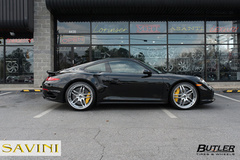 '14 Porsche 911 Turbo S on Savini SV2's