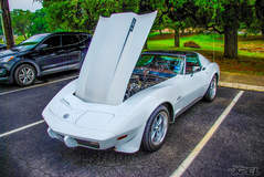 Corvette Stingray at Cars and Coffee San Antonio