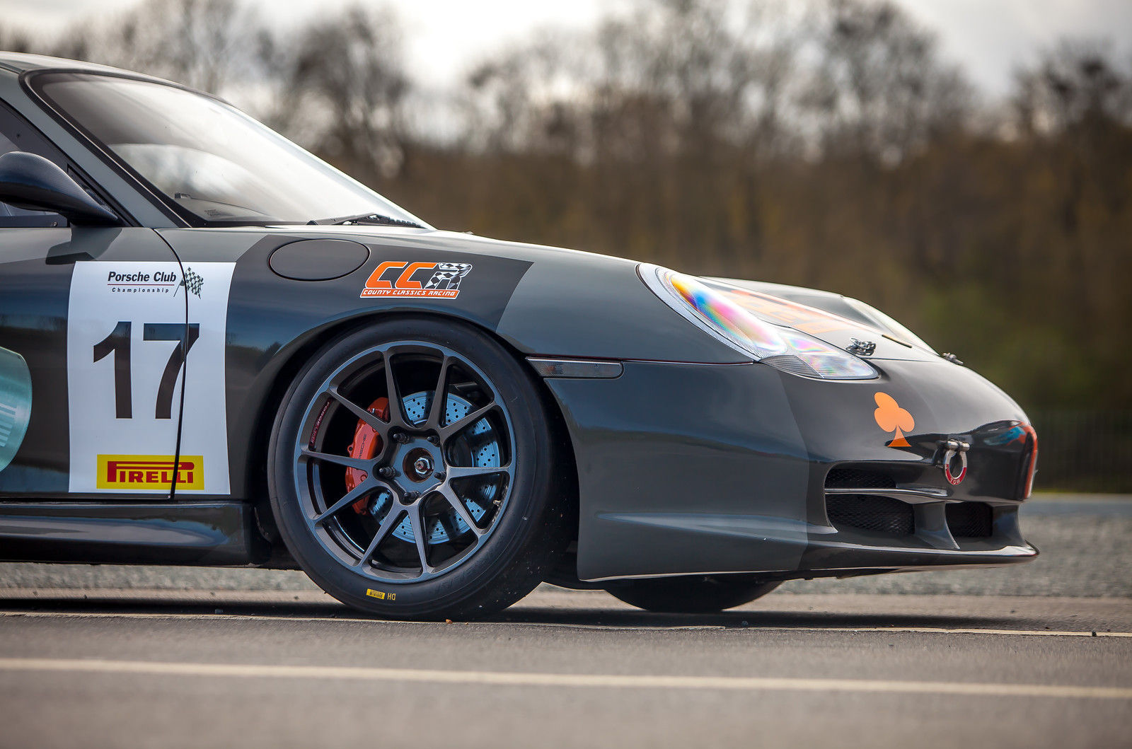2004 Porsche 911 | Country Classics UK #17 Porsche 996 on Forgeline One Piece Forged Monoblock GS1R Wheels