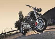 Wotjek Spyra's Yamaha XV750 'Cyclop'