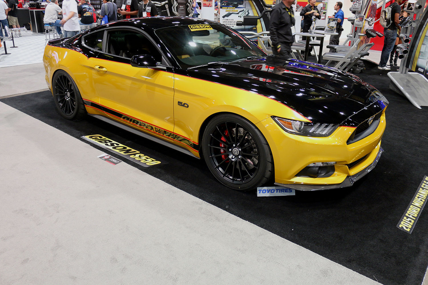 2015 Ford Mustang | 2015 Ford Mustang by Gibson Performance
