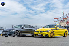 BMW M4 Pair - Side By Side