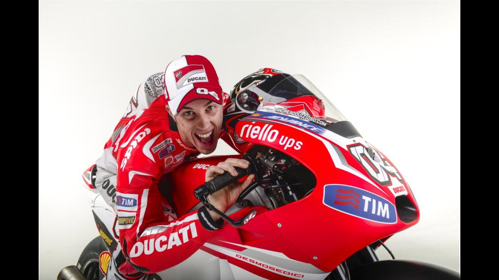 2014 Ducati  | 2014 Ducati MotoGP Press Event - Dovizioso