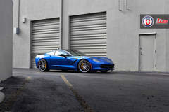 TK's C7 Corvette Stingray on HRE P104