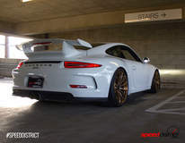 Speed District 991 GT3 on Forgeline GT1 Wheels