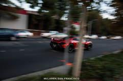 Volcano Red McLaren P1