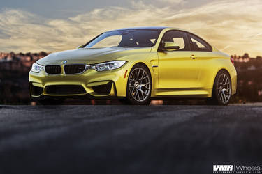 2014 BMW M4 | V810 Gunmetal 19"