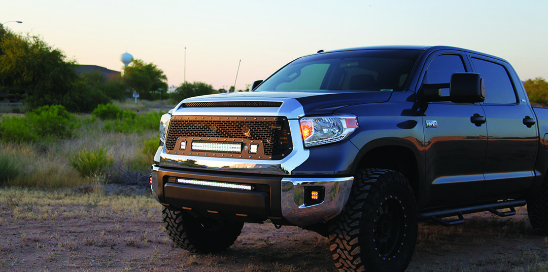 Toyota Tundra | Rigid Industries lights on this 2014 Toyota Tundra