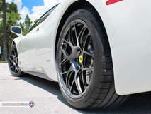 Ferrari 458 on HRE P40SC