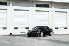 Dodge Charger R/T on Velgen Wheels  VMB7 Matte Silver  20x9 & 20x10.5