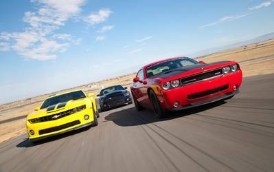 Who Offers The Best Modern Muscle Line Up?