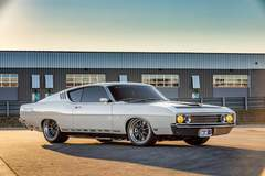 Tom Bailey's Sled Alley Ford Torino Talladega on Forgeline GZ3 Wheels