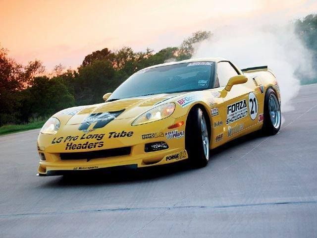 2007 Chevrolet Corsica | LG Motorsports Forza Showdown Corvette on Forgeline ZX3R Wheels