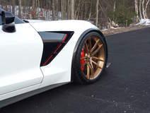 Glenn Rupp's Nowicki Autosport Design Concept7 C7 Corvette Stingray on Forgeline One Piece Forged Monoblock AR1 Wheels