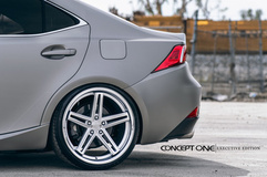 '14 Lexus IS350 F Sport on Concept One CS55's