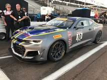 Lawson Aschenbach Starts the 2017 Pirelli World Challenge Season From the Pole in the New Chevrolet Camaro GT4.R on Forgeline One Piece Forged Monoblock GS1R Wheels!