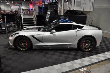 2014 Chevrolet Corvette Stingray | 2014 C7 Corvette Stingray at the Mobil 1 Booth