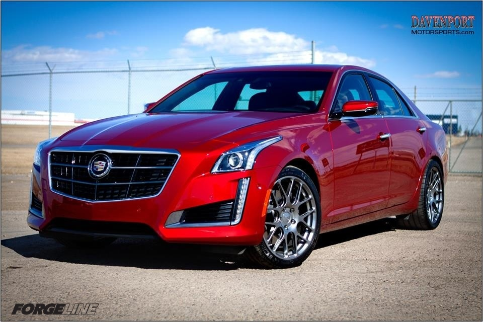 2014 Cadillac CTS | Cadillac CTS V-Sport on Forgeline SE1 One Piece Forged Monoblock Wheels