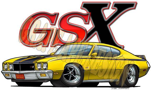 1970 Buick Skylark   Buick Skylark GSX art design