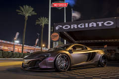 Liberty Walk McLaren 650S - Forgiato Booth SEMA 2016