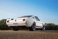 Matt Alcala's '65 Ford Mustang Fastback on Forgeline GZ3R Wheels