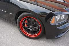 Dodge Charger on 20-inch Forgeline GA3 Wheels