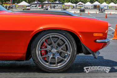 1970 Chevrolet Camaro | Nick Relampagos' Muscle Machine of the Year Finalist '70 Camaro on Forgeline VX3C Wheels