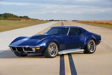 1971 Chevrolet Corvette Stingray | Eric Fleming's LT4-Powered '71 Corvette on Forgeline ML3C Wheels
