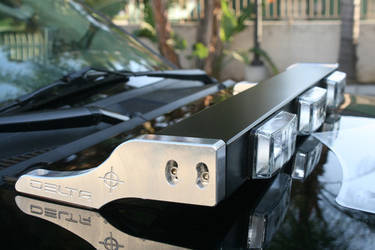 Hood H.I.D. Light Bar For JEEP JK & TJ (also fits Trucks) - HID