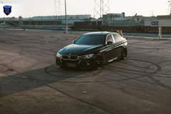 BMW 330i - Tire Marks