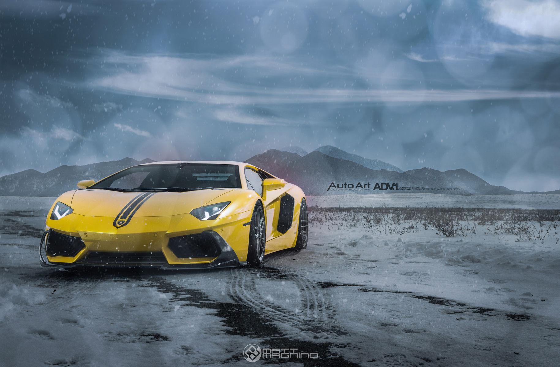 Lamborghini Aventador   Lamborghini Aventador LP700-4