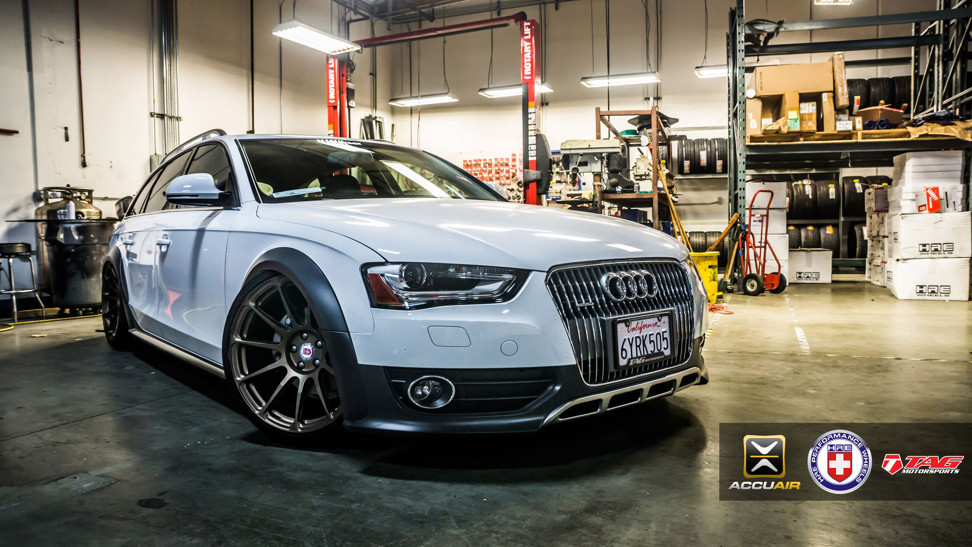 2012 Audi allroad quattro | TAG HRE AllRoad Quattro