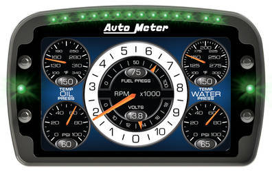 Auto Meter LCD Race Dash