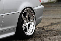 Jake's BMW e46 330ci on Forgeline RS3 Wheels