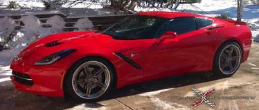 Gary Westerdale's C7 Corvette on Forgeline SC3C-SL Wheels