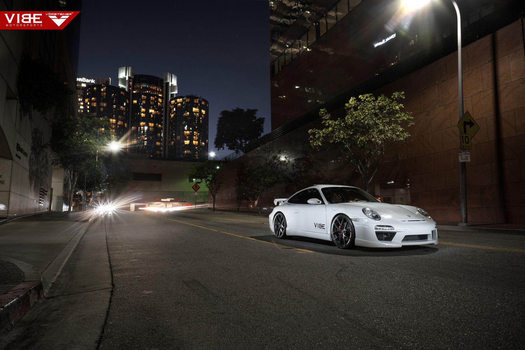 2006 Porsche 997 | Porsche Carrera S on Vorsteiner Wheels - City Lights