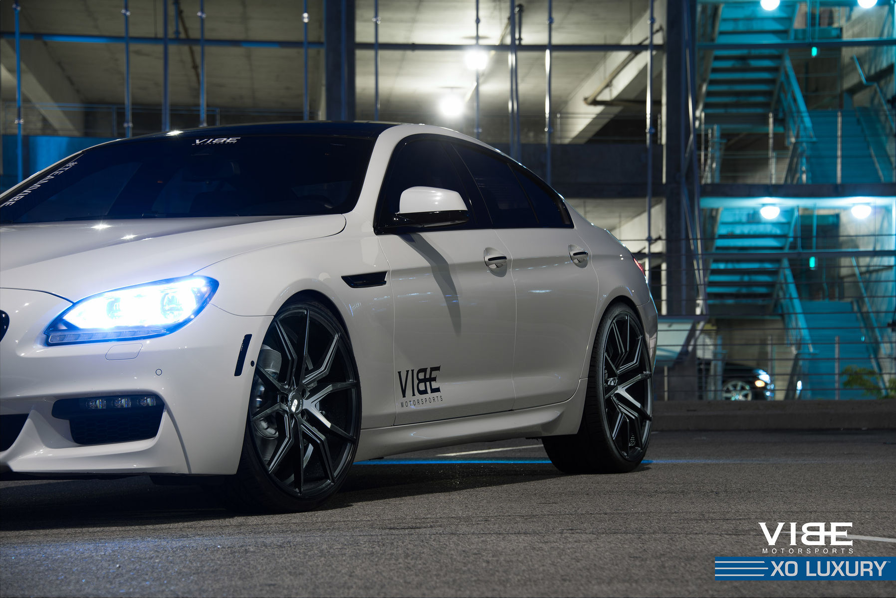 2014 BMW 6 Series Gran Coupe | '14 BMW 650li on 22's - Front Side Shot