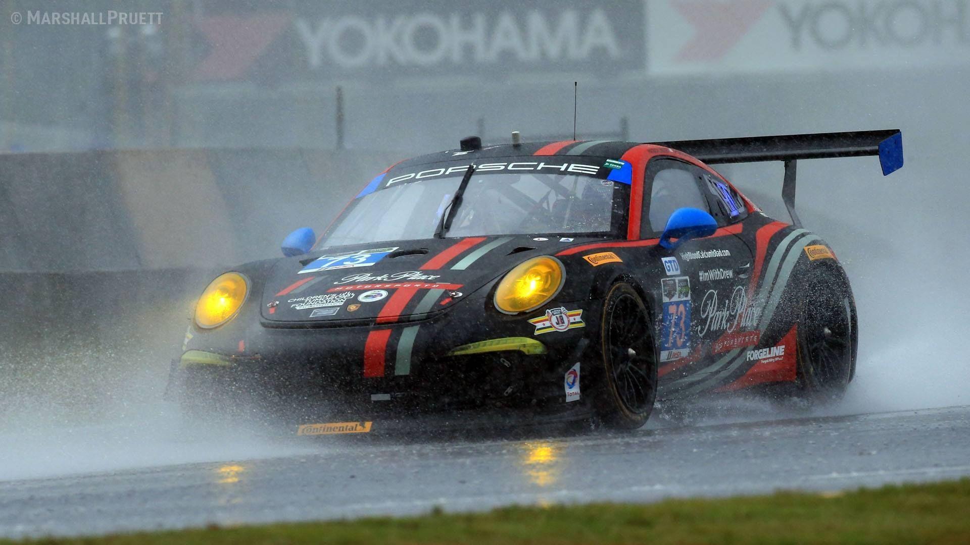 2015 Porsche 911 | Park Place Motorsports #73 Porsche Wins Petit Le Mans on Forgeline One Piece Forged Monoblock GTD1 Wheels