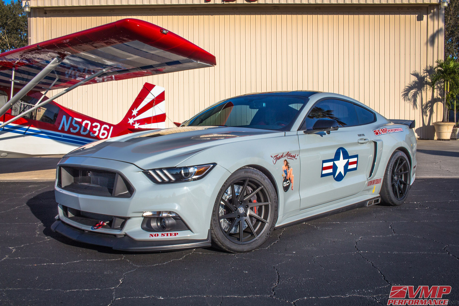 "VMP Performance ""Track Attack"" Ford Mustang GT hanging at the"