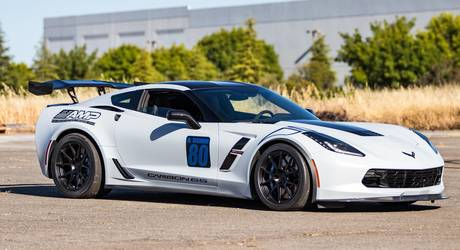 2018 Chevrolet Corvette Z06 | Mike's C7 Corvette Grand Sport on Forgeline One Piece Forged Monoblock GA1R Wheels