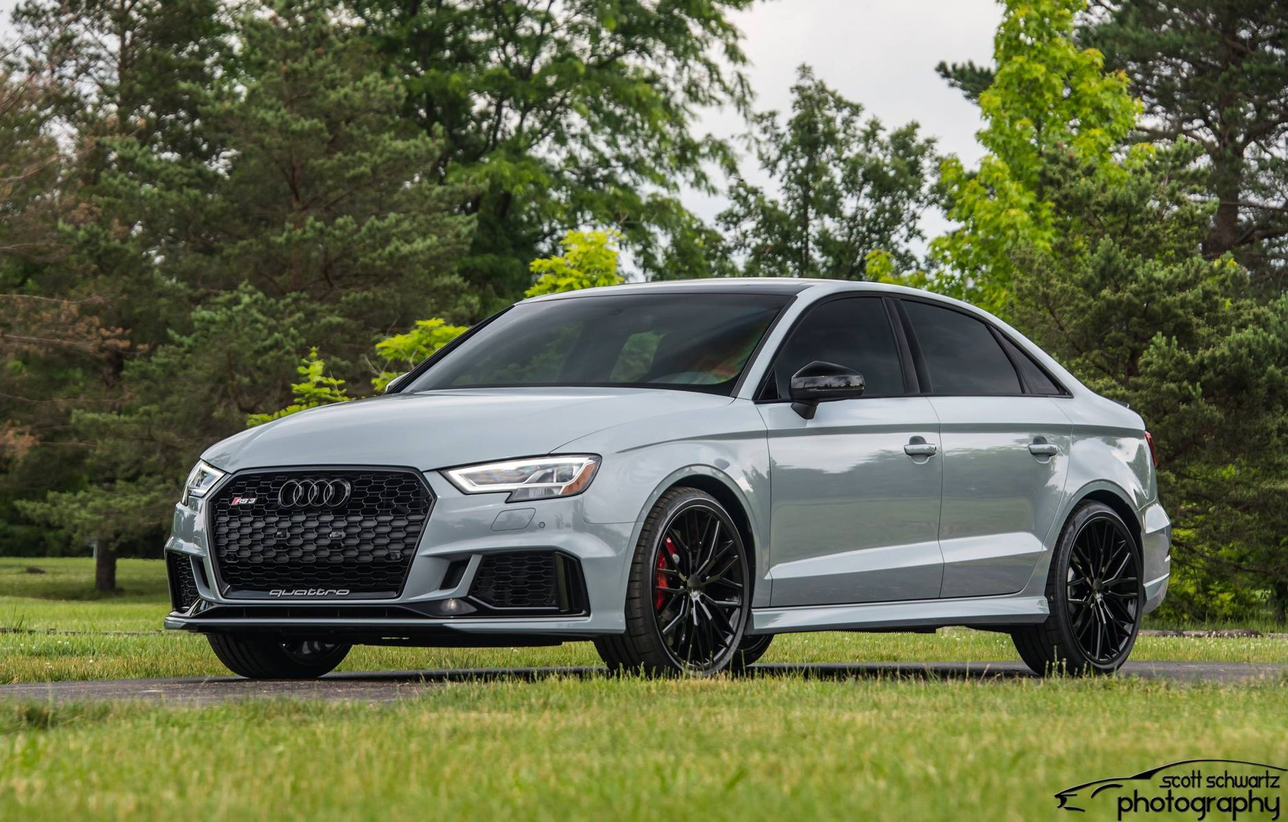 2018 Audi RS 3 | Gary Smith's Audi RS3 on Forgeline One Piece Forged Monoblock ZH1 Wheels