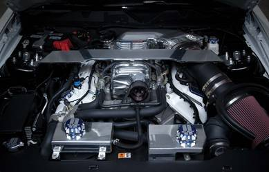 2012 Ford Mustang | Shelby WIDE BODY Engine