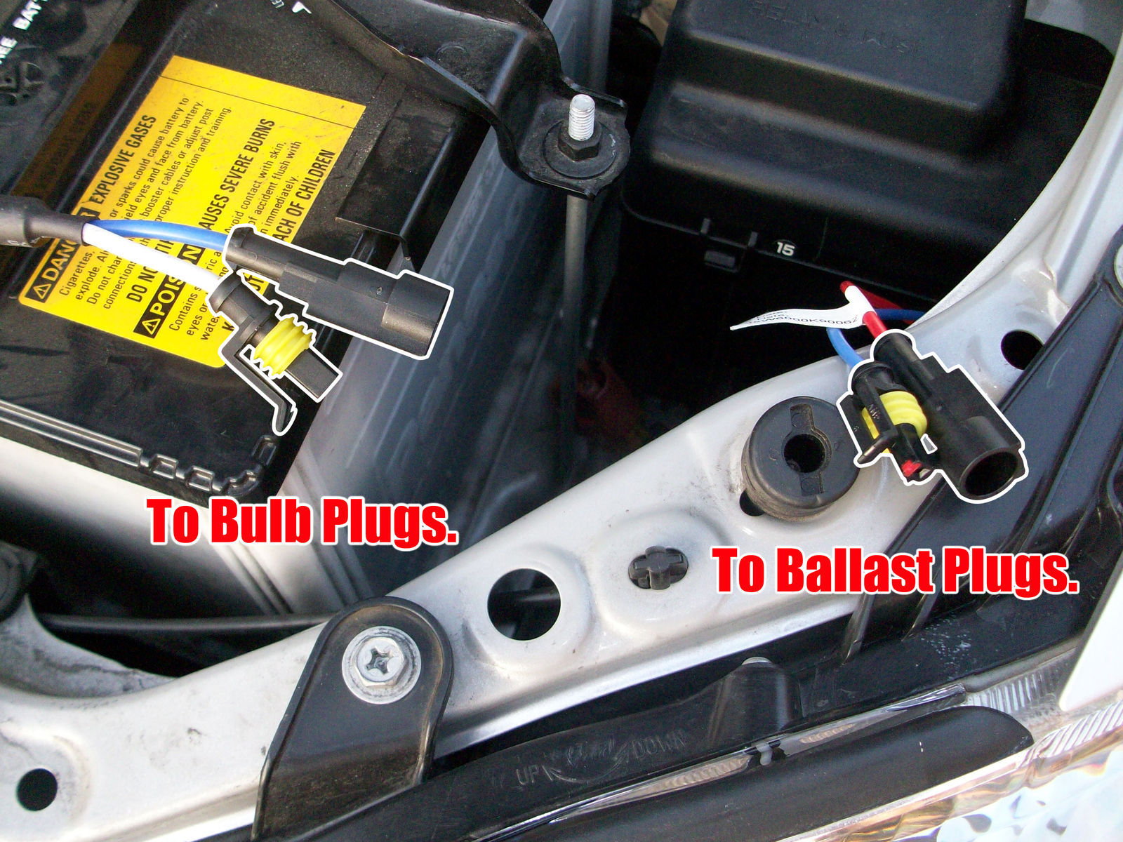 | Meng Motorsports HID Kit Install - Step 4