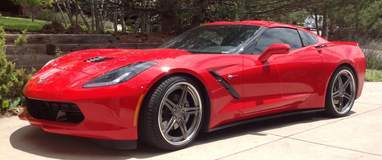 C7 Corvette on Forgeline SC3C-SL Wheels