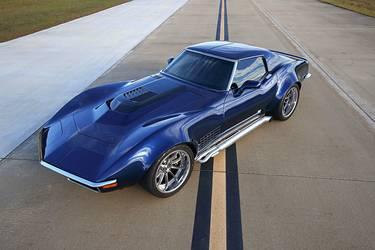 1971 Chevrolet Corvette Stingray   Eric Fleming's LT4-Powered '71 Corvette on Forgeline ML3C Wheels
