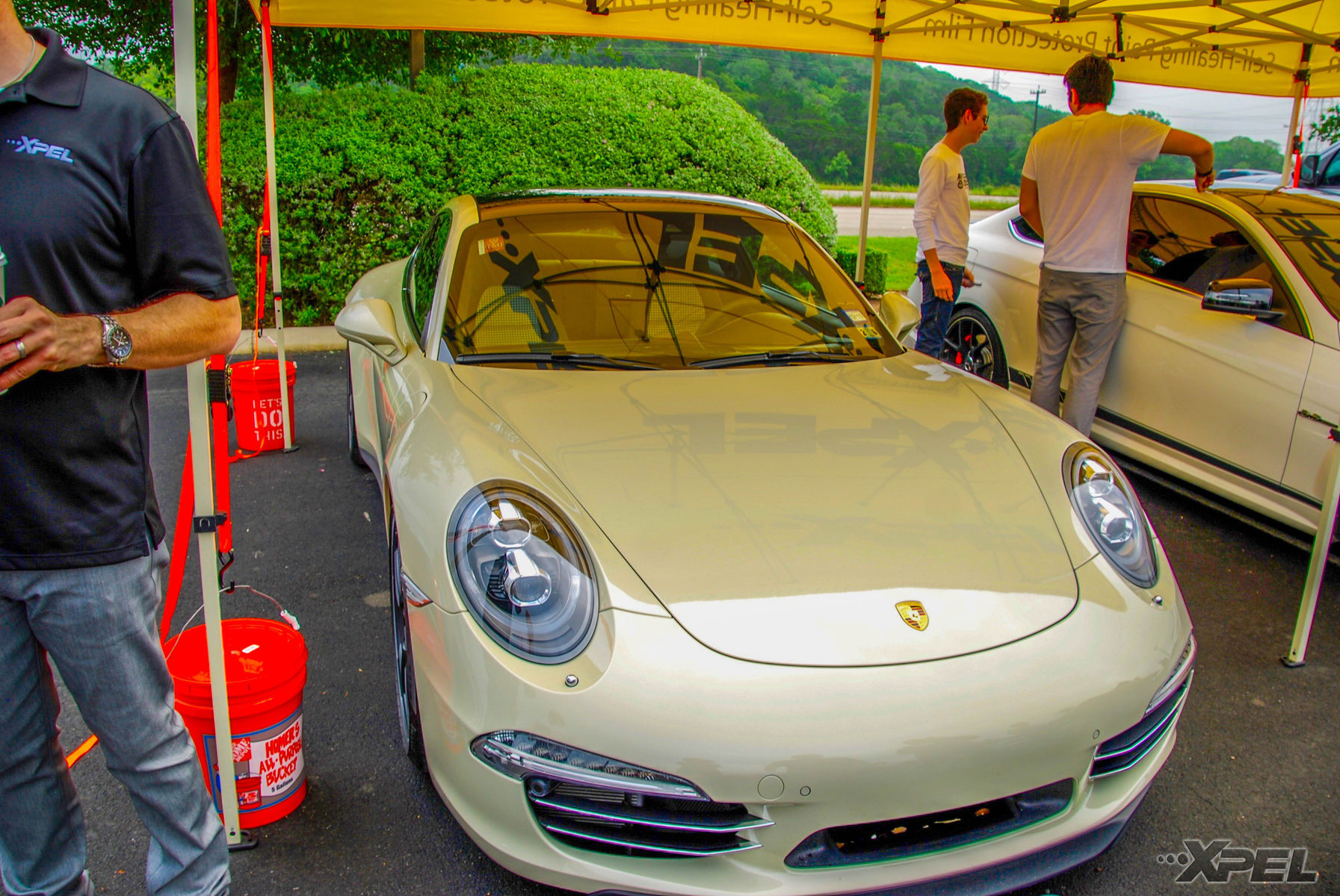 Porsche 911 | Porsche 911 50th with the entire front end protected with XPEL ULTIMATE self-helaing clear bra